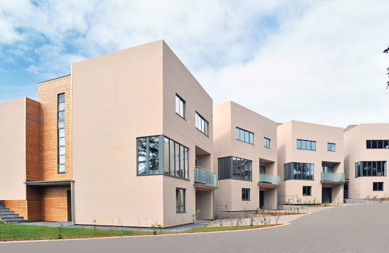 contemporary new homes devon