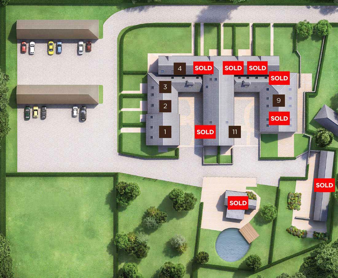 Barn Conversion Siteplan